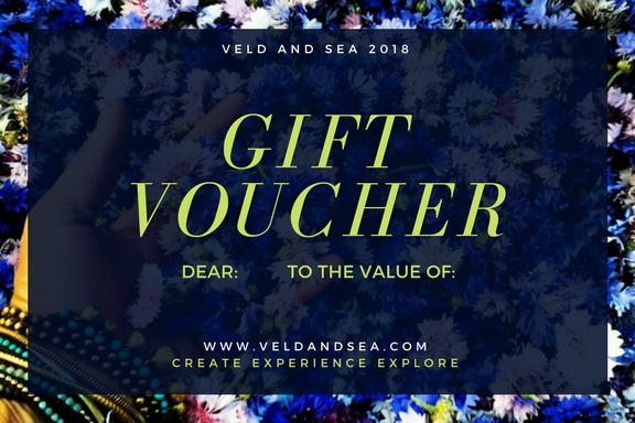 b veld and sea gift voucher 2018