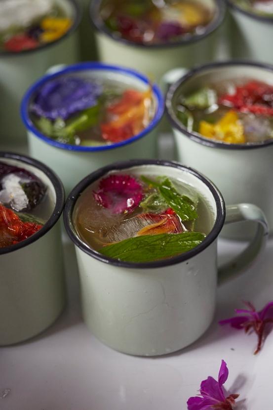 Spring botanical cocktails - image by Inge Prins