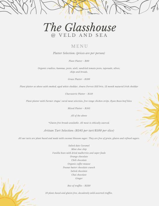 The Glasshouse @veldandsea